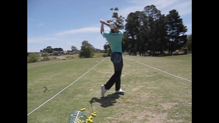 Understanding the Basic Moves for Beginners Iron Shot – Front View