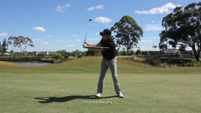 Build Your Backswing First a Great Checkpoint in the Middle of Your Backswing