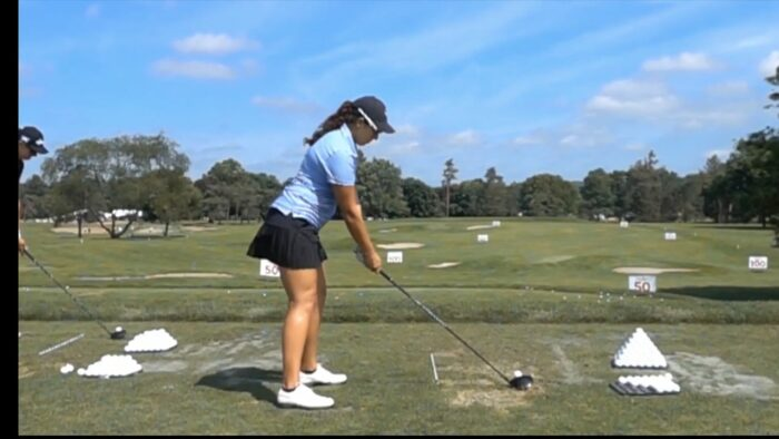 The Correct Set up down the Line with the Driver