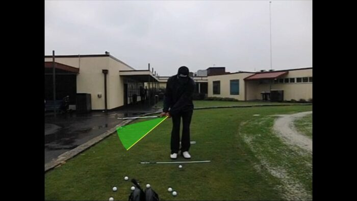 Front View Technique for the Low to Medium Greenside Shot