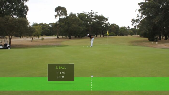 3 Ball Distance Control Drill