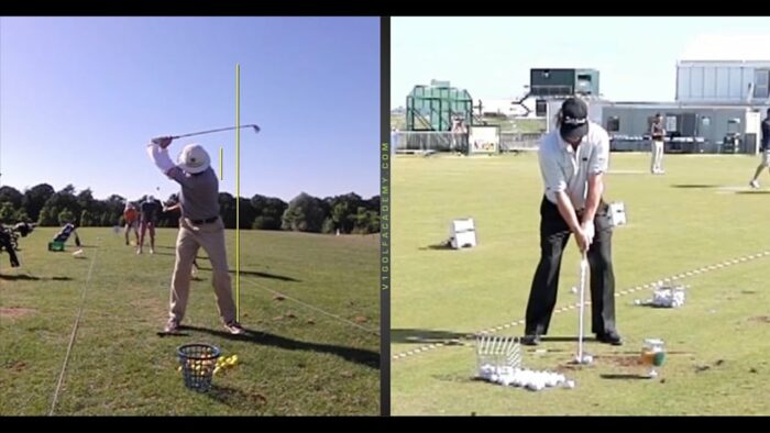 Moving off the Ball Can Actually Give Us More Swing but Don't Lift Up