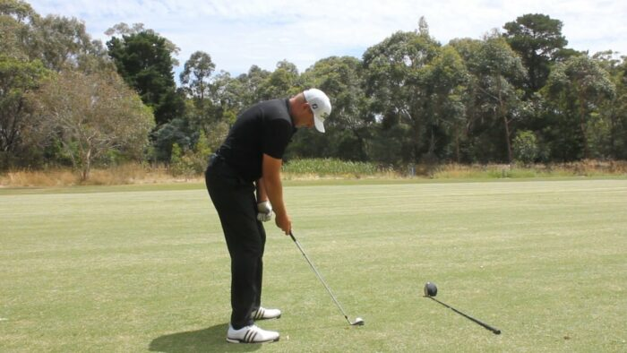 Correct Forward Bend and Distance from the Ball Prevents Poor Contact