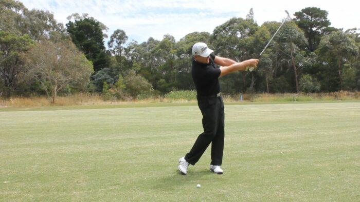 Reach out and Extend to Stop Those Thin and Topped Shots