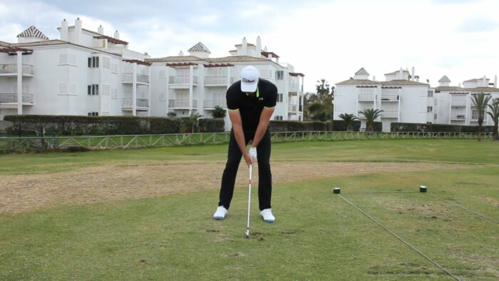 The Positioning of the Right Elbow Can Help Shallow Your Entry and Improve Your Ball Striking