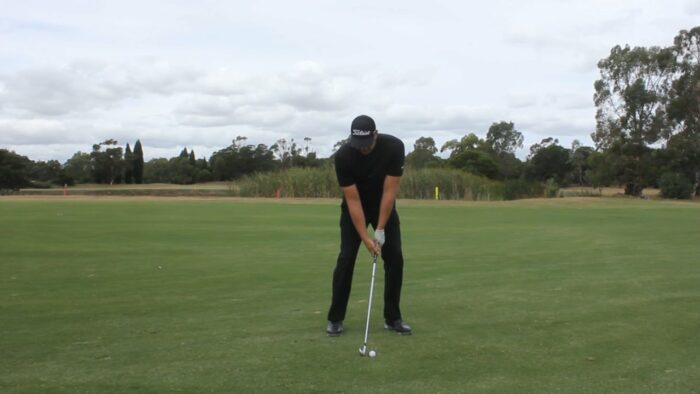 How to Hit Effectively from a Divot
