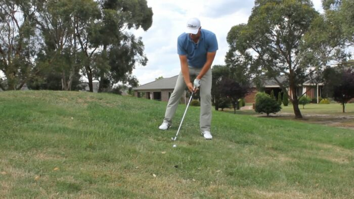 Mastering the downhill lie