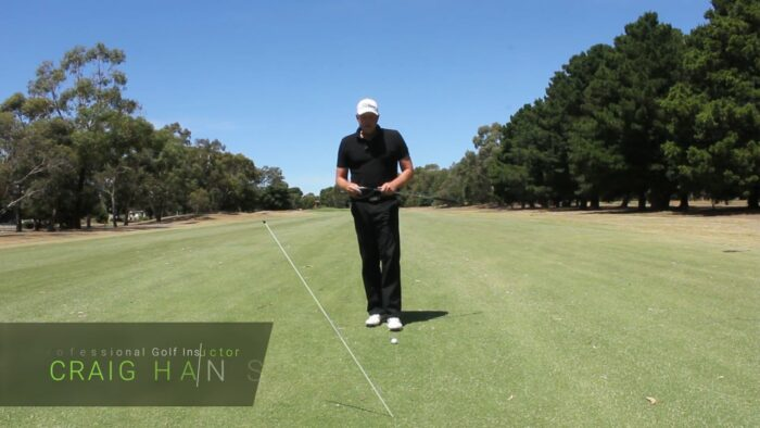 Shallowing your backswing plane its not that hard