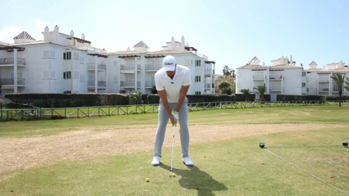 Part 2 – Lean the Shaft and Get the Left Hip over the Left Ankle to Help You Get on the Inside