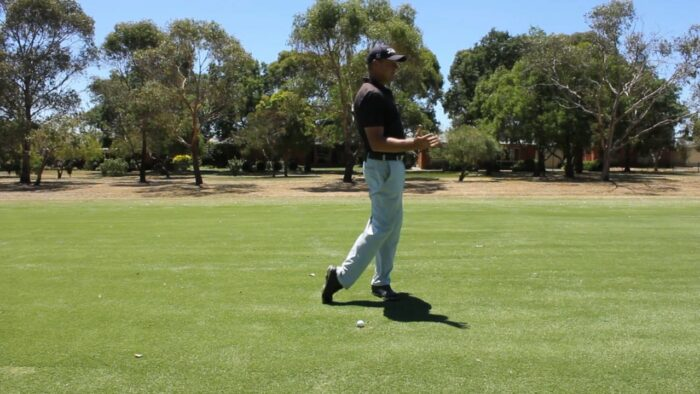 Lead with the Knees and Arch the Back to Help Hit on the Inside