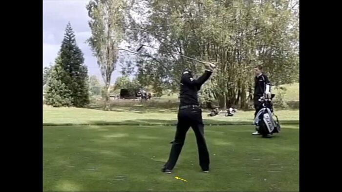 Left Shoulder Down -Right hip High