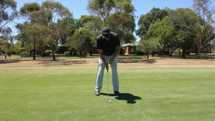 Check That Lateral Movement in the Backswing