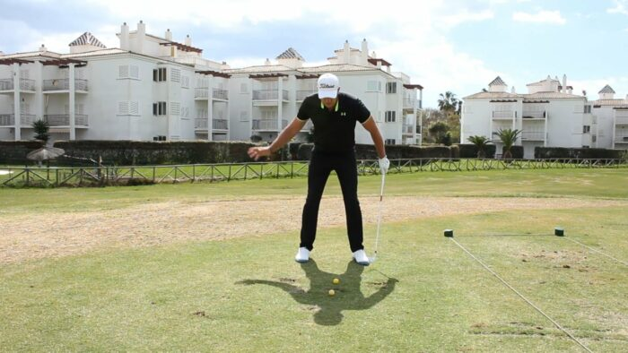 A Great Drill to Create Lateral Movement and a Better Golf Swing