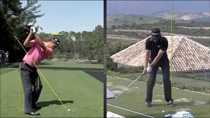 Golf Swing Comparison – Tiger Woods, Martin Kaymer and Dustin Johnson