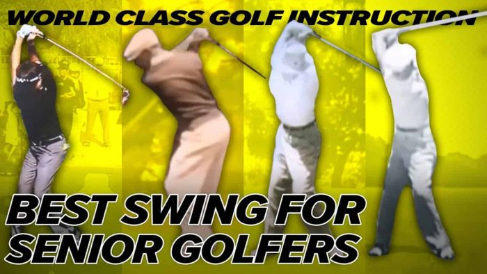 Seniors Golfers Power and Speed – Hogan, Snead, Nicklaus