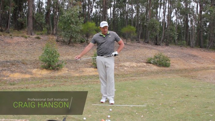 Slot the backswing with this great feel.