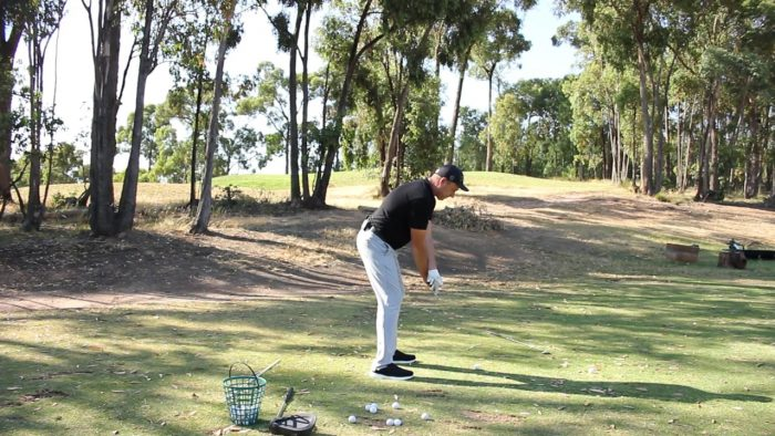 How to slot the top of the Backswing