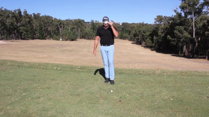 Building Your Backswing – Keep Your Eye Level