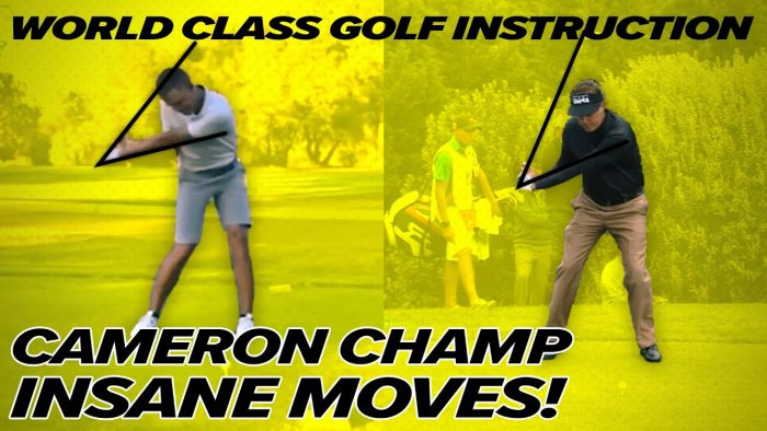 Cameron Champ Swing – Incredible Moves!