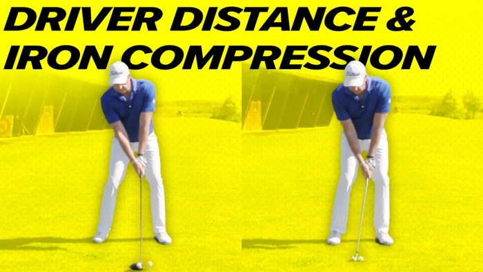 Iron vs Driver Swing – Driver Distance + Iron Compression!