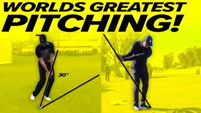 Pitching Technique – How to Pitch! Tiger Woods, Jason Day, Bryson Dechambeau, Luke Donald