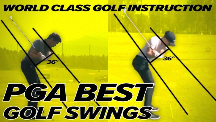 PGA Best Golf Swings – Rory Mcllroy, Cameron Champ, Tiger Woods, Robert Rock