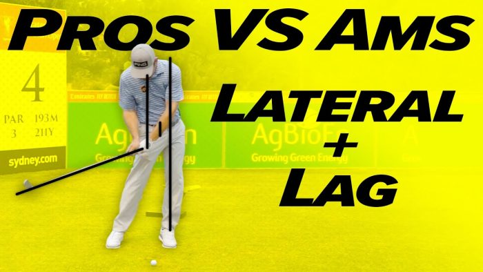 Golf Swing Lateral Movement! – Pros vs Ams – Incredible Contrast!