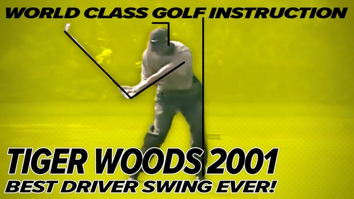 Tiger Woods Swing – Year 2000 – Rare Footage