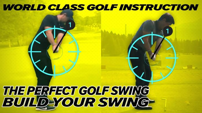 Build the Perfect Golf Swing! Rory Mcllroy, Brooks Koepka, PGA Pros