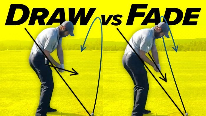 Draw vs Fade – Perfect Golf Swing Slow Motion!