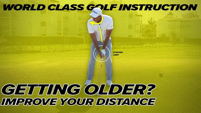 Effortless Power for Senior Golfers