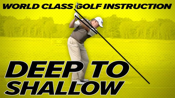 How to Shallow the Golf Club