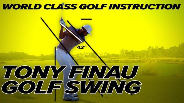 Tony Finau Golf Swing