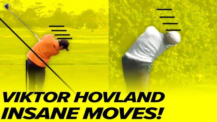 Viktor Hovland Swing! Viktor Hovland Driver – Incredible Moves!
