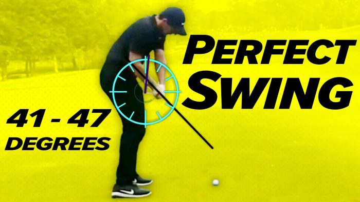 PERFECT GOLF SWING!! – How to make the perfect downswing!
