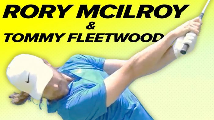 Rory Mcllroy Swing & Tommy Fleetwood Swing!