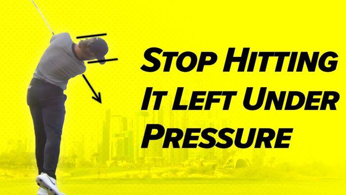 Golf Technique – Stop Hitting Left Under Pressure! – Craig Hanson Golf