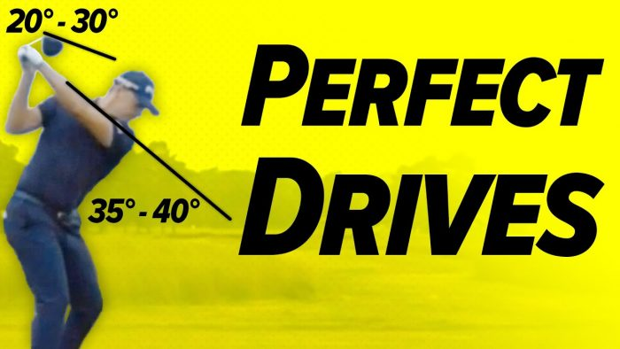 Golf The Driver Swing! – How to Drive the Golf Ball ( Slow Motion )