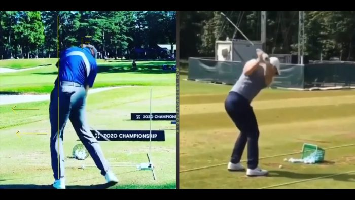 How the Lead Leg and Foot Moves in the Downswing!