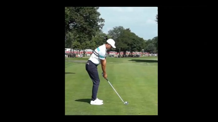 The amazing swing of Cameron Champ!